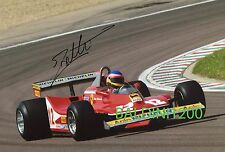 JACQUES VILLENEUVE SIGNED 10X8 PHOTO, GREAT ACTION SHOT IMAGE LOOKS GREAT FRAMED