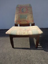 Chair Mid Century Modern MCM Danish Teak Style Seating Lounge Accent Vintage MCM
