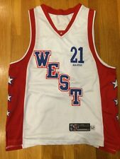 REEBOK BASKETBALL JERSEY KEVIN GARNETT #21 ALL-STAR WEST COAST L LARGE - MINT!