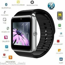 GT08 SMART Watch Phone For Android IOS Bluetooth Camera SIM Card Memory Slot