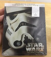 The Empire Strikes Back (Blu-ray Disc, 2015, Steelbook) Star Wars