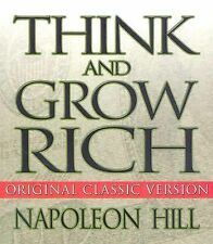 THINK AND GROW RICH Napoleon Hill AUDIOBOOK on CDs NEW personal finance money