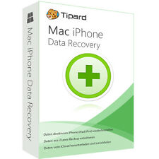 MAC iPhone Data Recovery Tipard dt.Vollversion-lebenslange Lizenz ESD Download