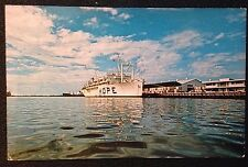 1968 SS Hope Color Postcard - Project HOPE