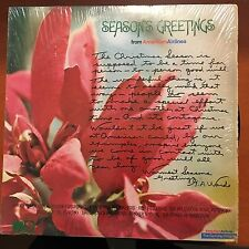 Seasons greetings from aa-shrink lp nat king cole nm