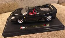 1/18 SCALE BURAGO FERRARI 1995 F50 HARD TOP Gold Collection Italy No Box