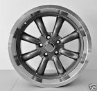 "17""x 7"" ALLOY WHEELS HOLDEN TORANA LJ LC LH EH HR HK HT HG MONARO KINGSWOOD 15"""