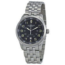 Victorinox Swiss Army AirBoss Automatic Black Dial Mens Watch 241508