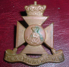 CAP BADGES-ORIGINAL BOER WAR WILTSHIRE REGIMENT ON LUGS