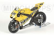 MINICHAMPS 053096 Yamaha YZR-M1 model bike Rossi Laguna Seca MotoGP 2005 1:12th
