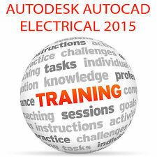 Autodesk AutoCAD ELECTRICAL 2015-Video formazione tutorial DVD