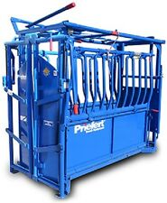 """Priefert S0191 """"Rancher"""" Cattle Squeeze Chute"""