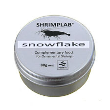 Shrimplab Snowflake 30g - Soy Snow Flake Food for Crystal Tiger Cherry Shrimp