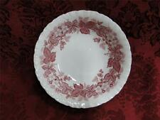 """Wedgwood Bramble Pink Shell Edge, Queen's Ware: Cereal Bowl (s), 6.25"""""""