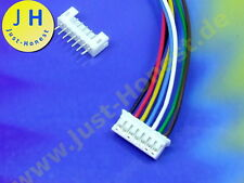 Kit hembra + conector 7 polos/pasadores 2 mm header + male connector PCB #a1828