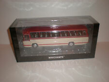 1/43 Minichamps 1965 Mercedes Benz O.302 bus red/cream