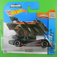 HOT WHEELS 2015 - Batman - Batmobile - HW City -  63  -  neu in OVP