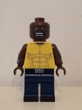 Lego LUKE CAGE Custom Printed Minifig Marvel Superhero Power Man Avengers