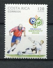 s7544) COSTA RICA 2006 MNH** WC Football - CM Calcio 1v.