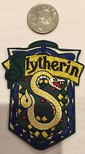 """Harry Potter """"Slytherin"""" Logo Embroidered Iron-on patch 3""""x 2"""""""
