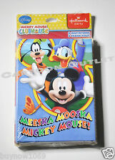 MICKEY MOUSE INVITATIONS 8 PC PARTY BIRTHDAY SUPPLY 8 THANK YOU CARDS DISNEY