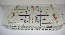 vintage table top game TABLETOP HOCKEY NHL STARS press radio t-v Eagle Toys 1965