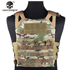 EMERSON JPC Plate Carrier Vest Airsoft Tactical Hunting Gear MultiCam EM7344A