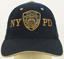 NYPD New York Police Department Baseball Hat Cap with Velcro Adjustable Strap
