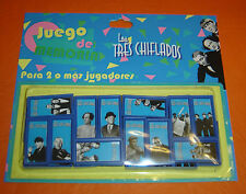 THE THREE STOOGES  tv serie MEMORY GAME Argentina toy  MOE CURLY LARRY SHEMP JOE