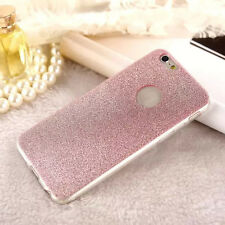 Glitter Bling ShockProof Silicone Soft TPU Case Cover For Apple iPhone 5 6 Plus