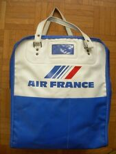 SAC DE VOYAGE AIR FRANCE ANNEES 70 – HOTESSE DE L'AIR AVION AVIATION VINTAGE
