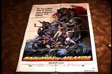 WARLORDS OF ATLANTIS MOVIE POSTER HORROR
