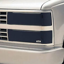 90-93 Chevrolet GMC Truck SUV GTS Acrylic Smoke Headlight Covers 4pc GT0901S/4
