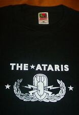 "THE ATARIS ""END IS FOREVER"" Punk Band T-Shirt XL NEW Kung Fu Records"