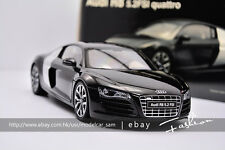 KYOSHO 1/18 AUDI R8 5.2 FSI QUATTRO BRILLIANT DIECAST CAR MODEL BY  black