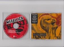 METALLICA  -  FRANTIC   5 TR RARE  SWEDISH   INCL 4 LIVE NUMBERED