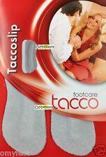 TACCO Suede Heel Grip Slip Shoe Insoles Inserts Tacco-slip Tacco-heel-grip 1SIZE