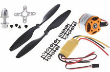 Brushless Motor 1400 kV + 30A ESC + 1 Pair Propeller Combo for Quadcopter F450