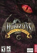 Horizons: Empires of Istaria, 2 LN Condition PC Game CD-ROMs with Manual