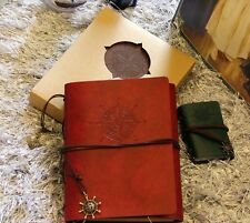 """Traveler's Story"" 1pc Vintage DIY Photo Album Leather Travel Polaroid Album"