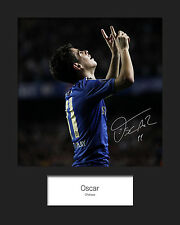OSCAR - CHELSEA Signed 10x8 Mounted Photo Print - FREE DEL