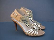 COLE HAAN  Women's Leather Strappy Heels, Size 9.5 B