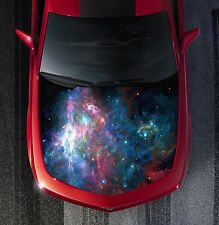H118 GALAXY Hood Wrap Wraps Decal Sticker Tint Vinyl Image Graphic
