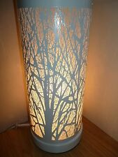 Tree Scene Touch Table Lamp Bedside Dimmer Light White Modern Desk Lamps NEW