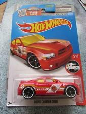 Hot Wheels 2016 #215/250 DODGE CHARGER SRT8 red Case E Treasure Hunt Long Card