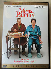 Robert De Niro Ben Stiller MEET THE PARENTS ~ 2000 Comedy | US R1 DVD