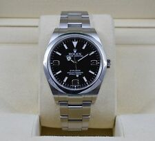Rolex Explorer I 214270 Stainless Steel 39mm Oyster - Random Serial - WOW!