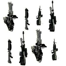 8 Weapons Accessories Marksman Sniper Rifle Machine RARE For Turret Halo Figures