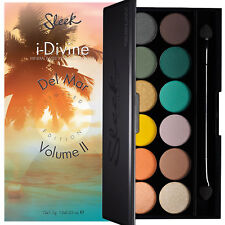 Sleek Makeup Make Up I-Divine 12 Colour Eyeshadow - Del Mar Volume II