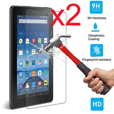 2x Gorilla Tempered Glass Screen Protector For Amazon Kindle Fire HD 7 2015 US